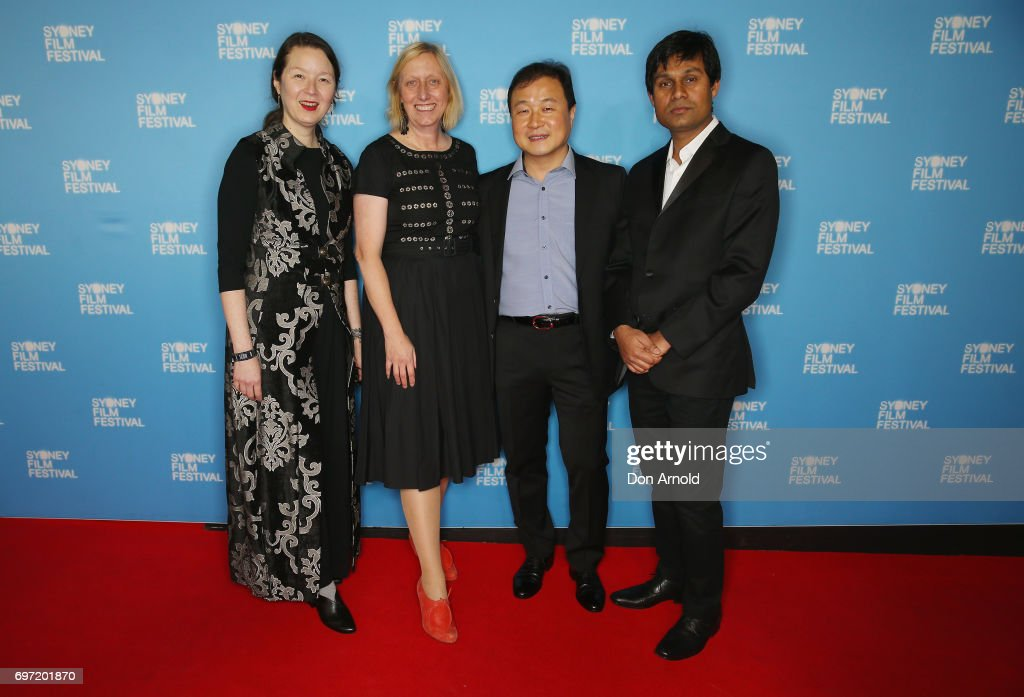 Jury members arrive ahead of the Sydney Film Festival Closing Night Gala and Australian premiere of Okja at State Theatre on June 18, 2017 in Sydney, Australia.