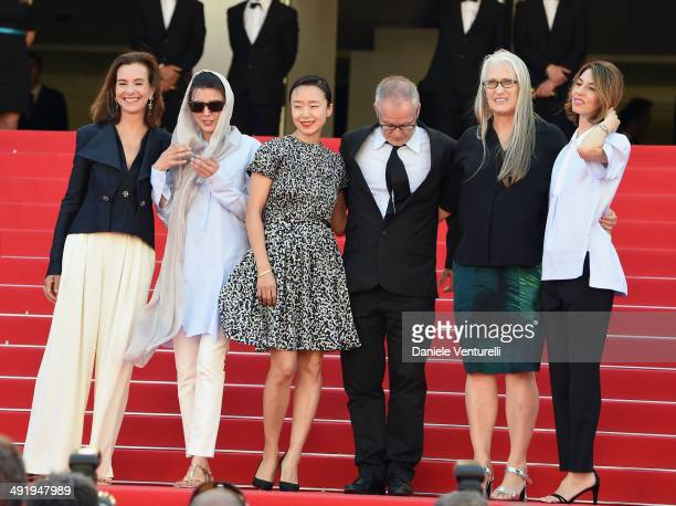 Jury members Carole Bouquet Leila Hatami Doyeon Jeon General Delegate of the Cannes Film Festival Thierry Fremaux Jury President Jane Campion and...