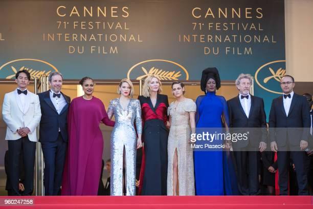 Jury members Chang Chen Denis Villeneuve Ava DuVernay Lea Seydoux Jury president Cate Blanchett Jury members Kristen Stewart Khadja Nin Robert...
