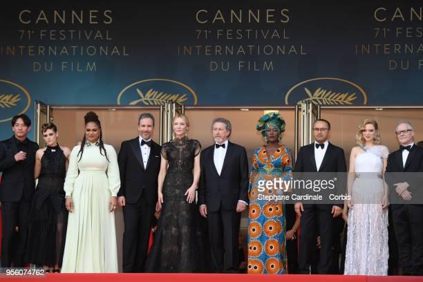 Jury members Chang Chen Kristen Stewart Ava DuVernay Denis Villeneuve jury head Cate Blanchett jury members Robert Guediguian Khadja Nin Andrey...