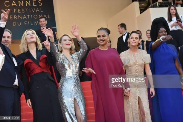 Jury members Denis Villeneuve Ava DuVernay Lea Seydoux Jury president Cate Blanchett Jury members Kristen Stewart Khadja Nin Robert Guediguian and...