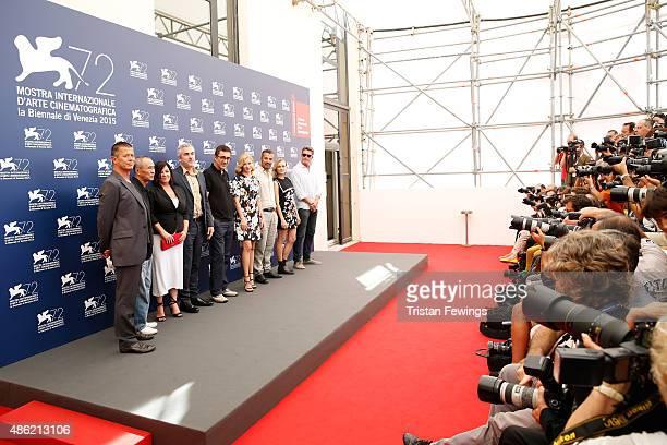 Jury members Emmanuel Carrere Hou Hsiaohsien Lynne Ramsay President Alfonso Cuaron Nuri Bilge Ceylan Elisabeth Banks Francesco Munzi Diane Kruger and...