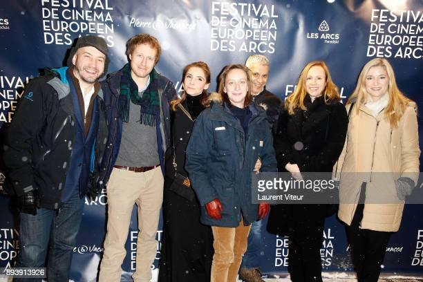 Jury Members Evgueni Galperine Laszlo Nemes Clotilde Courau Celine Sciamma Sami Bouajila Alante Kavaite and Natacha Regnier attend the Opening...