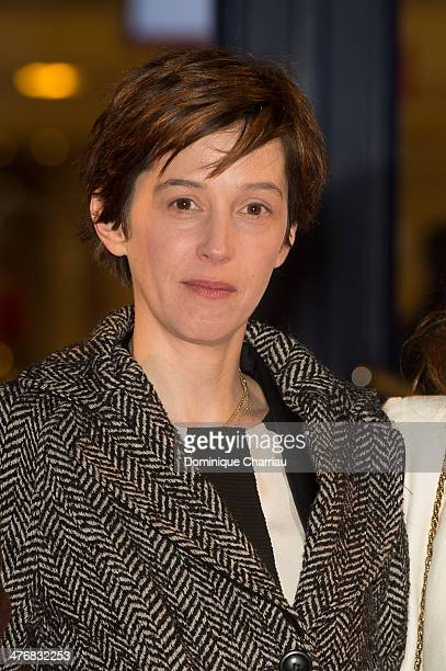 Jury Members Florence LoiretCaille attends the Deauville Asian Film Festival opening ceremony at CID of Deauvile on March 5 2014 in Deauville France