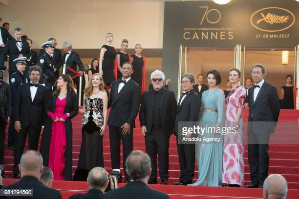 Jury members French composer Gabriel Yared US actress Jessica Chastain SouthKorean director Park ChanWook French actress Agnes Jaoui US actor Will...