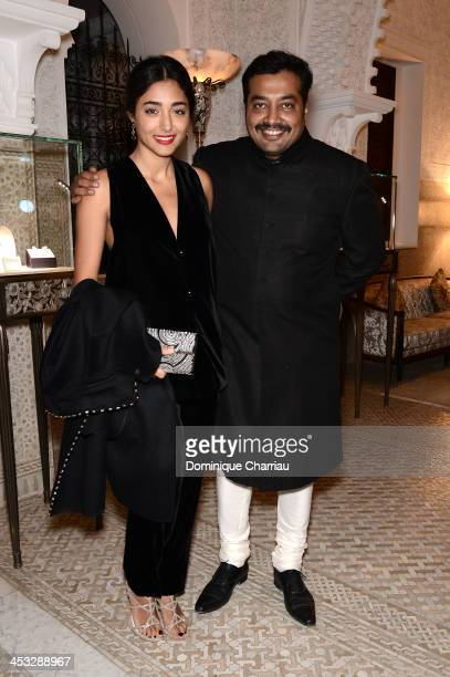 Jury Members Golshifteh Farahani and Anurag Kashyap attend a diner hosted by Dior during the 13th Marrakech International Film Festival on December 1...