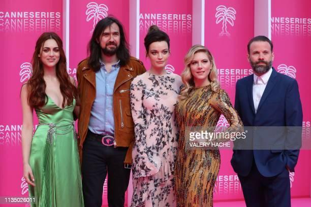 CANNESERIES jury members Italian actress Miriam Leone French musician Robin Coudert aka Rob FrenchBritish actress Emma Mackey Canadian actress...