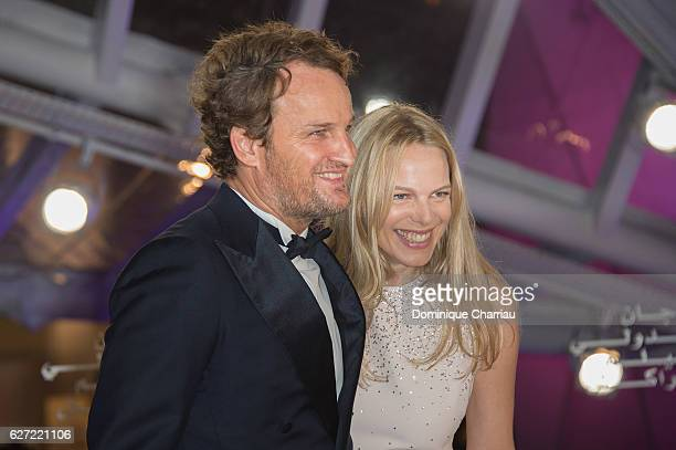 Jury members Jason Clarke and Cecile Breccia attends 16th Marrakech International Film Festival Opening Ceremony on December 2 2016 in Marrakech...