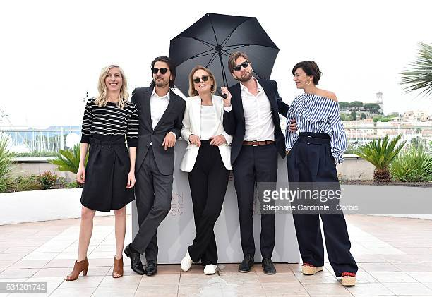 Jury members Jessica Hausner Diego Luna Marthe Keller Ruben Oestlund and Celine Sallette attend the Jury Un Certain Regard Photocall during the 69th...