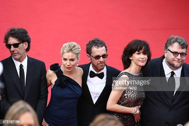 Jury members Joel Coen Sienna Miller Ethan Coen Sophie Marceau and Guillermo Del Toro attend the opening ceremony and premiere of 'La Tete Haute'...