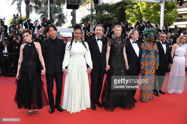Jury members Kristen Stewart Chang Chen Ava DuVernay Denis Villeneuve jury head Cate Blanchett jury members Robert Guediguian Khadja Nin Andrey...
