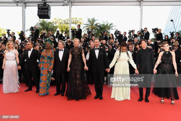 Jury members Lea Seydoux Andrey Zvyagintsev Khadja Nin Robert Guediguian jury head Cate Blanchett Denis Villeneuve Ava DuVernay Chang Chen and...