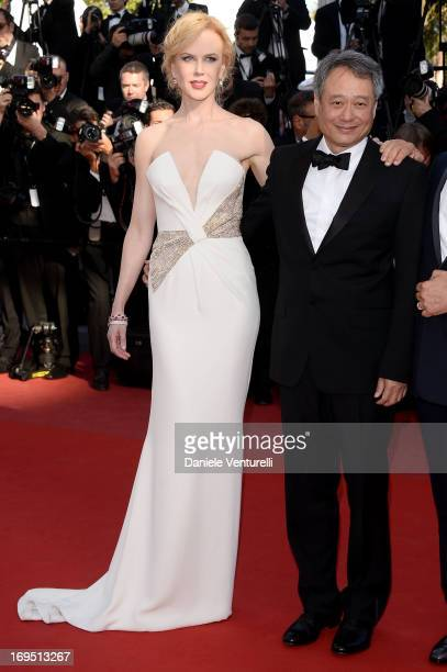 Jury members Nicole Kidman and Ang Lee attend the Premiere of 'Zulu' and the Closing Ceremony of The 66th Annual Cannes Film Festival at Palais des...