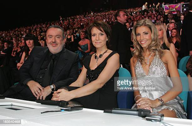 Jury Members of Miss France Pageant Dominique Farrugia Carole Rousseau and Alexandra Rosenfeld in Dunkerque