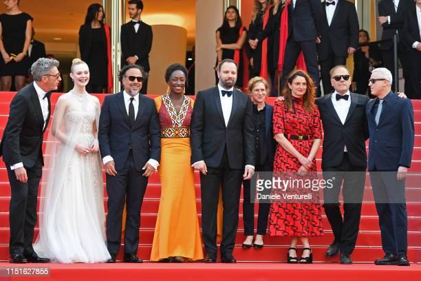 Jury Members of the main competition Pawel Pawlikowski Elle Fanning Alejandro Gonzalez Inarritu Maimouna N'Diaye Yorgos Lanthimos Kelly Reichardt...