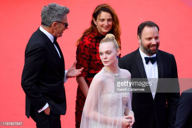 Jury Members Pawel Pawlikowski Alice Rohrwacher Elle Fanning and Yorgos Lanthimos attend the closing ceremony screening of The Specials during the...