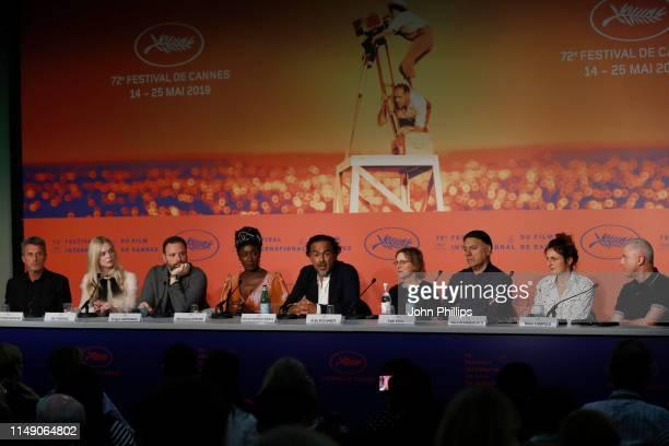Jury Members Pawel Pawlikowski, Elle Fanning, Yorgos Lanthimos, Maimouna N'Diaye, Alejandro Gonzalez Inarritu, Kelly Reichardt, Enki Bilal, Alice...