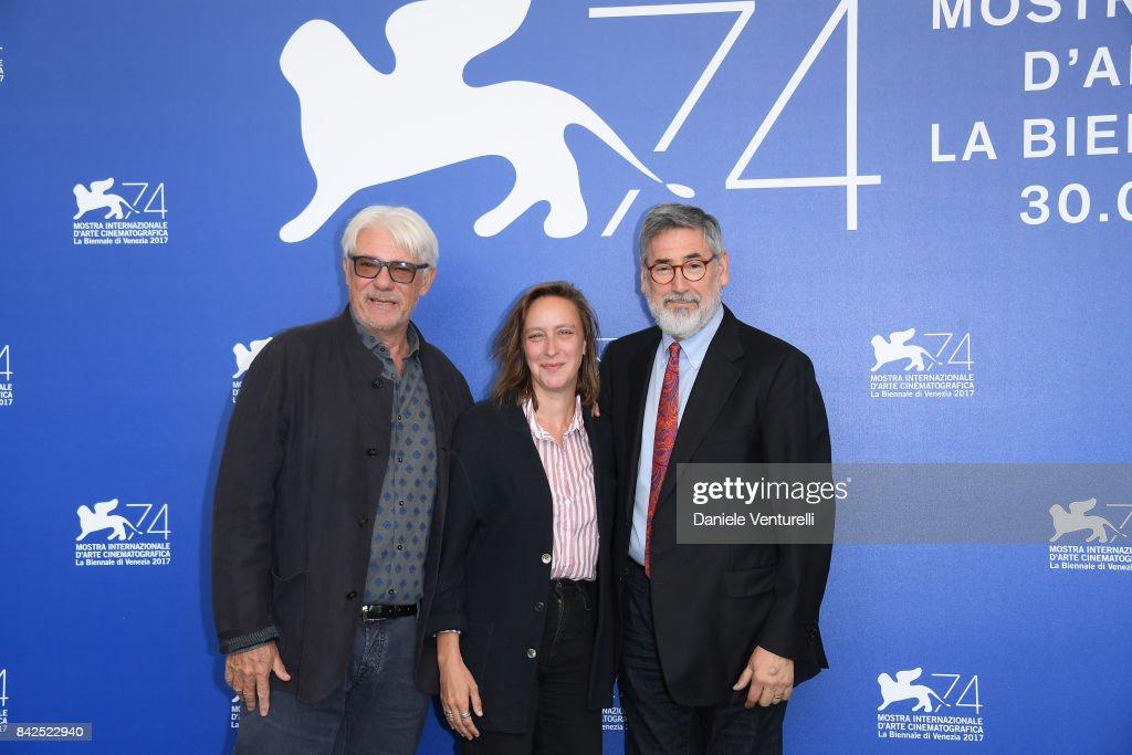 Venice Virtual Reality Jury Photocall - 74th Venice Film Festival : News Photo