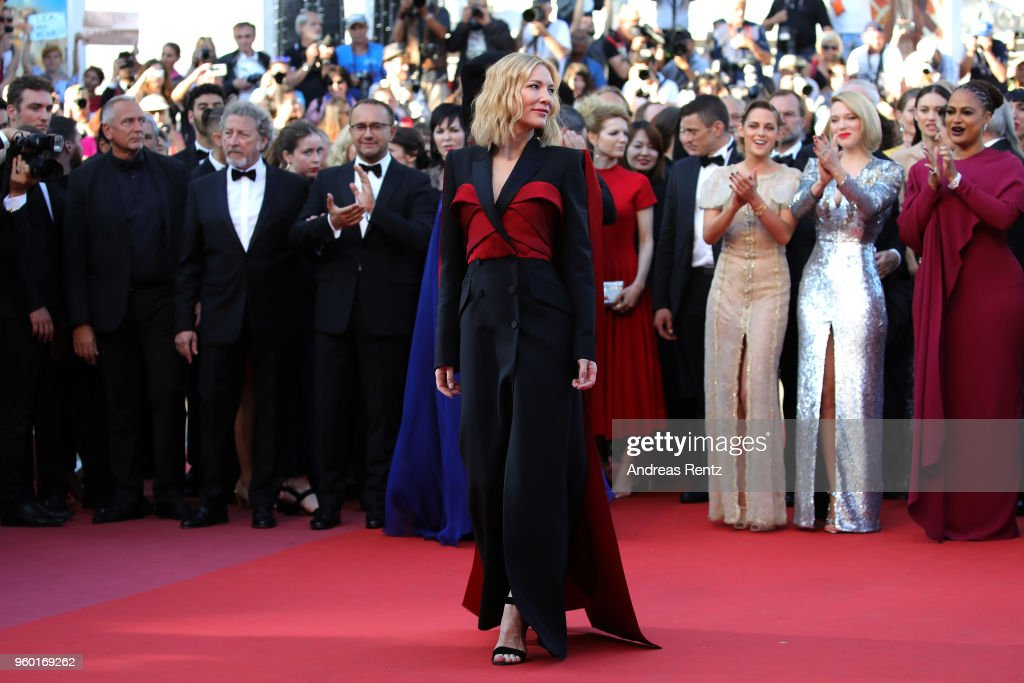 "Closing Ceremony & ""The Man Who Killed Don Quixote"" Red Carpet Arrivals - The 71st Annual Cannes Film Festival : News Photo"