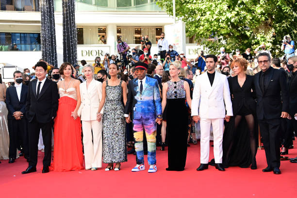 """FRA: """"OSS 117: From Africa With Love"""" Final Screeing & Closing Ceremony Red Carpet - The 74th Annual Cannes Film Festival"""