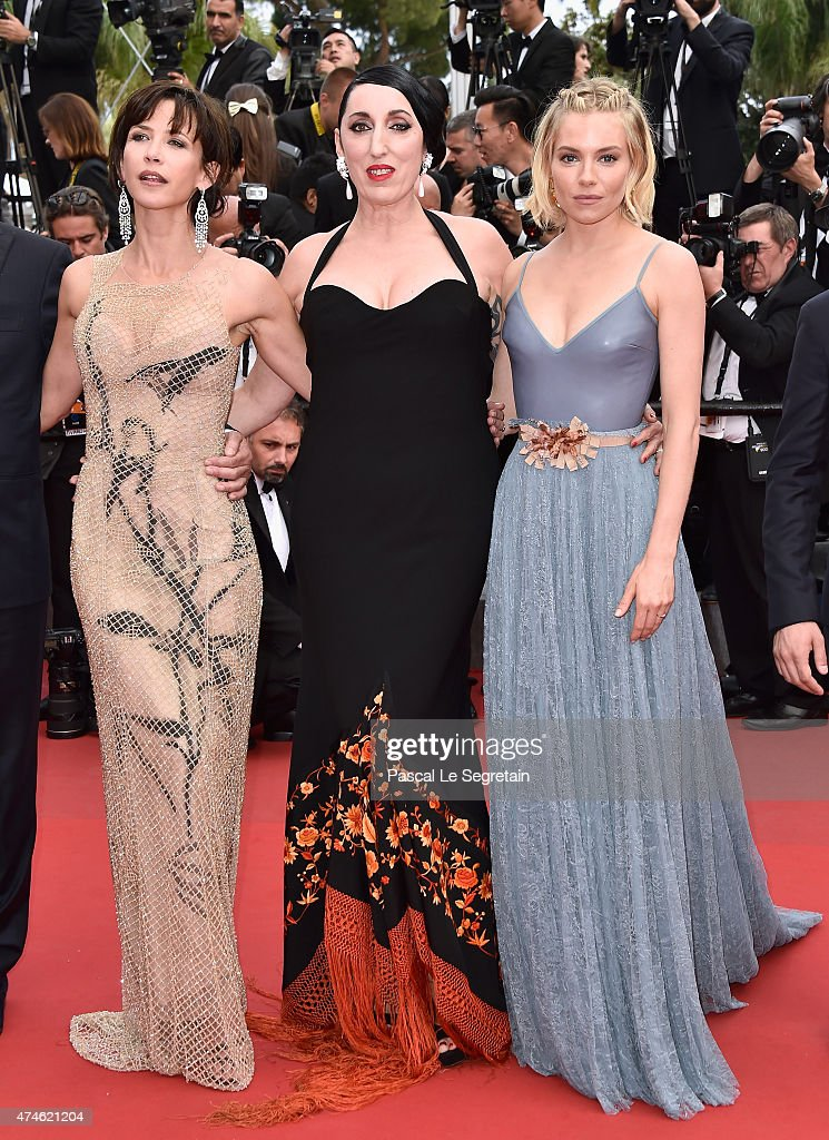 Jury members Sophie Marceau, Rossy de Palma, and Sienna Miller attend the closing ceremony and Premiere of 'La Glace Et Le Ciel' ('Ice And The Sky') during the 68th annual Cannes Film Festival on May 24, 2015 in Cannes, France.