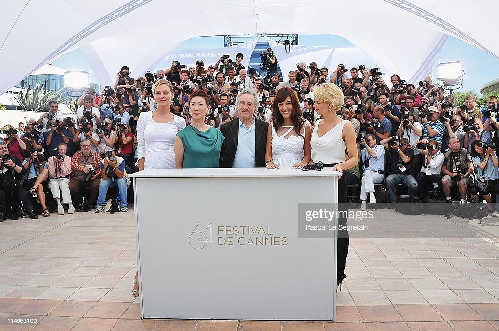 Jury Photocall - 64th Annual Cannes Film Festival