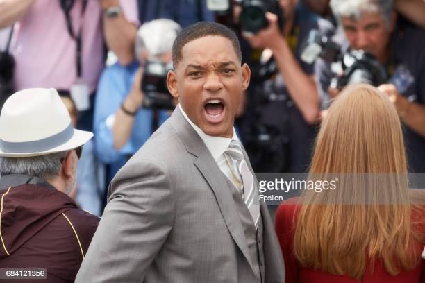 Jury members Will Smith attends the Jury photocall during the 70th annual Cannes Film Festival at Palais des Festivals on May 17 2017 in Cannes France