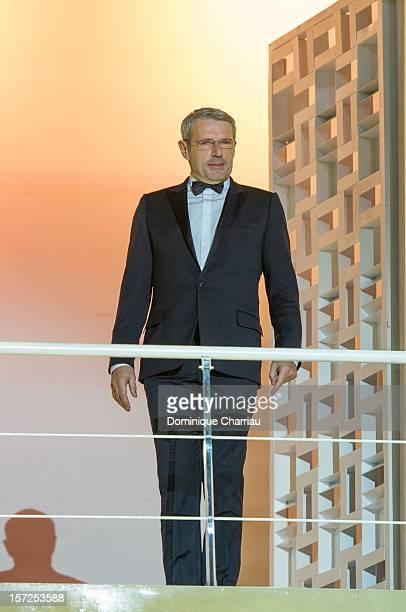 Jury menbers of the 12th Marrakech International Film Festival Lambert Wilson arrives for the opening ceremony of the 12th Marrakesh International...