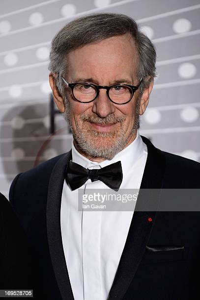 Jury President and director Steven Spielberg attends the Palme D'Or Winners dinner during The 66th Annual Cannes Film Festival at Agora on May 26...