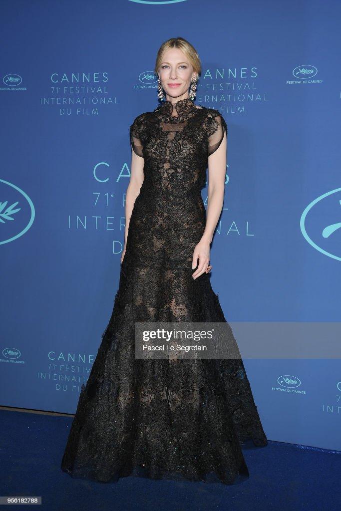 Gala Dinner Arrivals - The 71st Annual Cannes Film Festival : News Photo