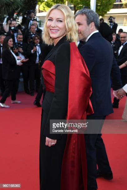 Jury president Cate Blanchett attends the Closing Ceremony and the screening of 'The Man Who Killed Don Quixote' during the 71st annual Cannes Film...