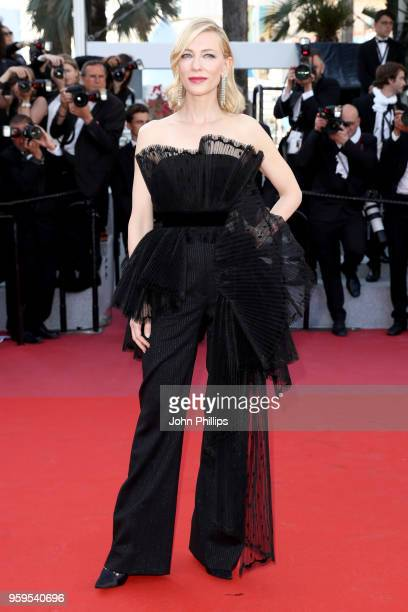 Jury president Cate Blanchett attends the screening of Capharnaum during the 71st annual Cannes Film Festival at Palais des Festivals on May 17 2018...
