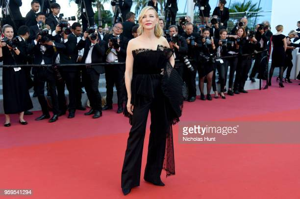 Jury president Cate Blanchett attends the screening of 'Capharnaum' during the 71st annual Cannes Film Festival at Palais des Festivals on May 17...