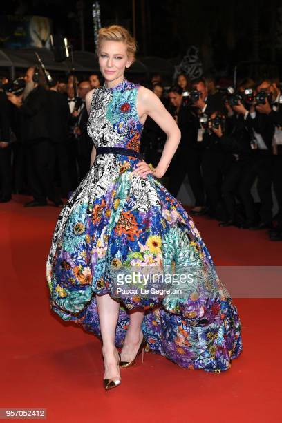 """Jury President Cate Blanchett attends the screening of """"Cold War """" during the 71st annual Cannes Film Festival at Palais des Festivals on May 10,..."""