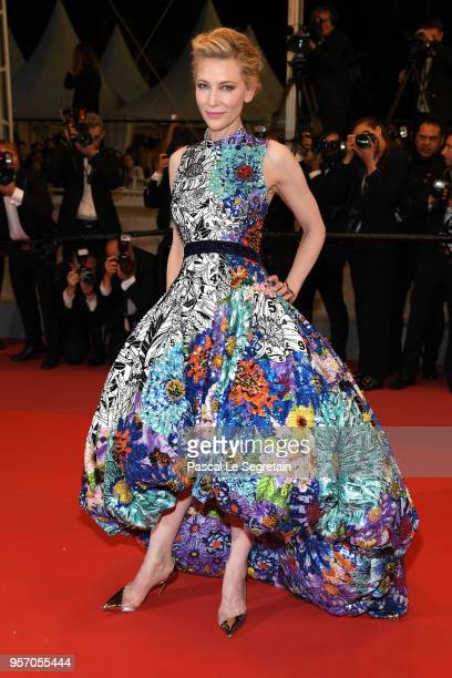 Jury President Cate Blanchett attends the screening of Cold War during the 71st annual Cannes Film Festival at Palais des Festivals on May 10 2018 in...