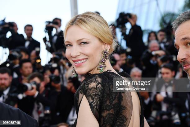 Jury president Cate Blanchett attends the screening of Everybody Knows and the opening gala during the 71st annual Cannes Film Festival at Palais des...