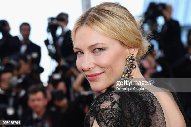 Jury president Cate Blanchett attends the screening of 'Everybody Knows ' and the opening gala during the 71st annual Cannes Film Festival at Palais...