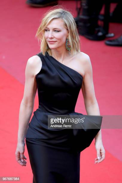 Jury president Cate Blanchett attends the screening of 'Girls Of The Sun ' during the 71st annual Cannes Film Festival at Palais des Festivals on May...