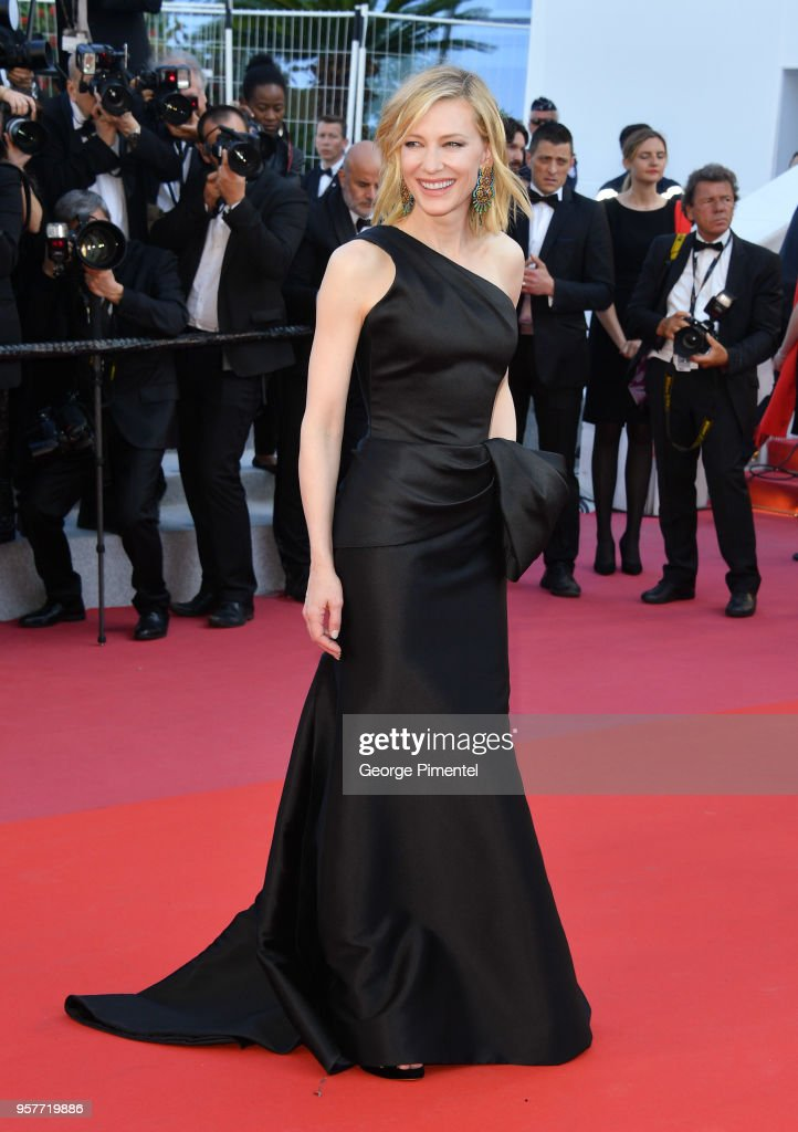 Jury president Cate Blanchett attends the screening of 'Girls Of The Sun (Les Filles Du Soleil)' during the 71st annual Cannes Film Festival at Palais des Festivals on May 12, 2018 in Cannes, France.