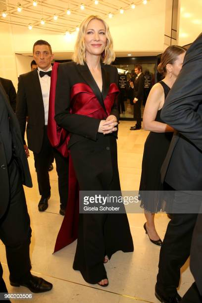 Jury president Cate Blanchett during the closing ceremony of the 71st annual Cannes Film Festival at Palais des Festivals on May 19 2018 in Cannes...