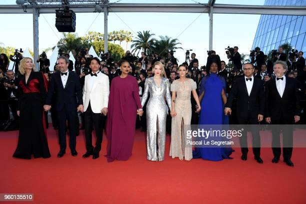 Jury president Cate Blanchett Jury members Denis Villeneuve Chang Chen Ava DuVernay Lea Seydoux Kristen Stewart Khadja Nin Andrey Zvyagintsev and...