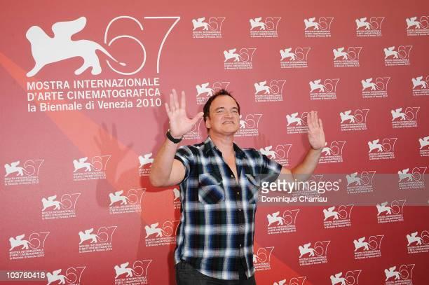 Jury President director Quentin Tarantino attends the Venezia 67 Jury Photocall at the Palazzo del Casino during the 67th Venice International Film...