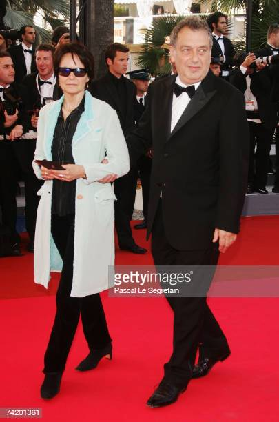 """Jury president director Stephen Frears and Anne Rothenstein attends the premiere for the film """"Chacun Son Cinema"""" at the Palais des Festivals during..."""