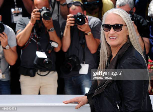 Jury President Jane Campion attends the Jury photocall at the 67th Annual Cannes Film Festival on May 14 2014 in Cannes France