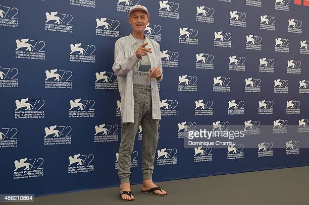 Jury President Jonathan Demme attends the Orizzonti Jury Photocall during the 72nd Venice Film Festival on September 2 2015 in Venice Italy
