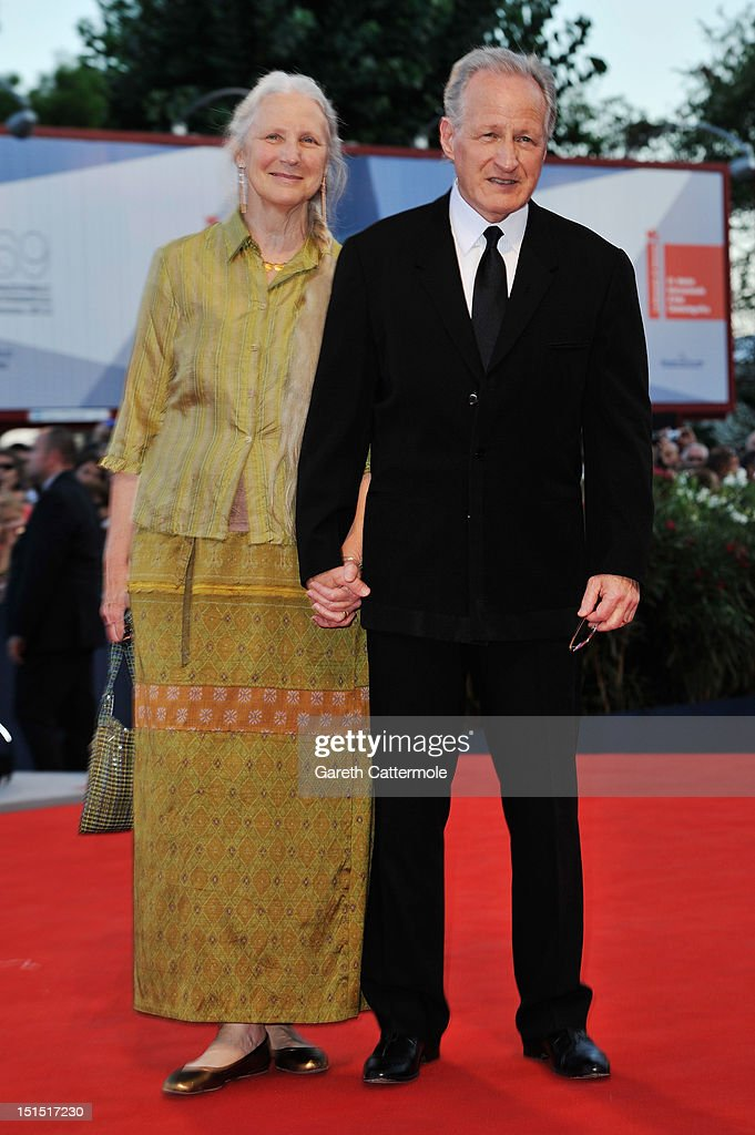 Jury President Michael Mann (R) and his wife Summer Mann attend the Award Ceremony during The 69th Venice Film Festival at the Palazzo del Cinema on September 8, 2012 in Venice, Italy.