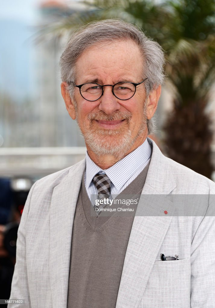 Jury president Steven Spielberg attends the Jury photocall during the 66th Annual Cannes Film Festival at Palais des Festivals on May 15, 2013 in Cannes, France.