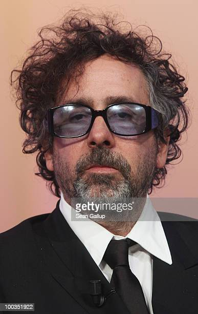 Jury President Tim Burton attends the Palme d'Or Award Ceremony held at the Palais des Festivals during the 63rd Annual Cannes Film Festival on May...