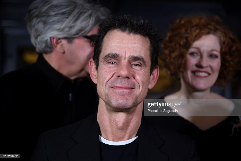 Jury President Tom Tykwer poses at the International Jury photo call during the 68th Berlinale International Film Festival Berlin at Hotel Mandala on February 14, 2018 in Berlin, Germany.