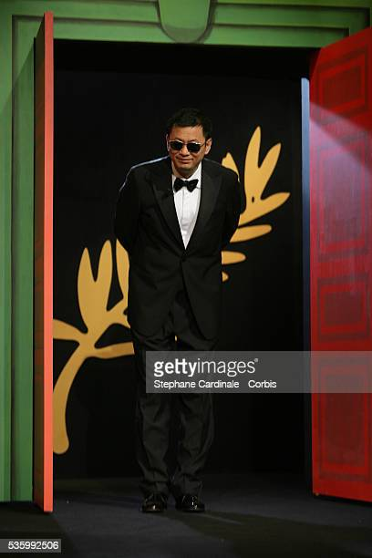 Jury President Wong Kar Wai at the closing ceremony of the 59th Cannes Film Festival